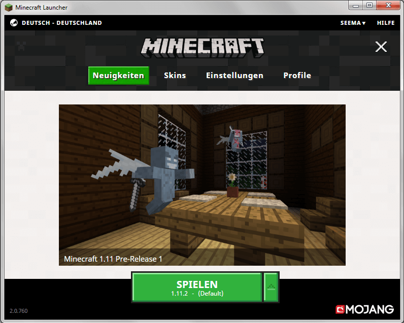 Minecraft Version ändern SeeMAs Minecraft Server - Minecraft server spielen deutsch